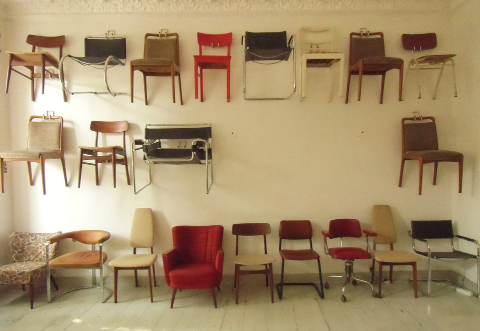 Diana Arce, 21 Chairs, Work in Progress