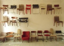 Diana Arce, 21 Chairs, Work in Progress